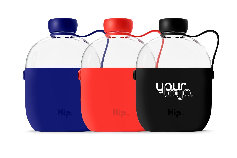personalised hip water bottle